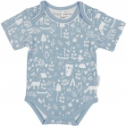 Little Dutch Romper Korte Mouw Adventure Blue