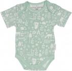 Little Dutch Romper Korte Mouw Adventure Mint