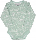 Little Dutch Romper Lange Mouw Adventure Mint