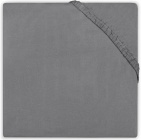 Little Lemonade Hoeslaken Jersey Dark Grey  40 x 80 cm