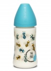 Suavinex Fles Fusion Bee Blue 270ml