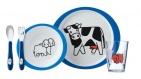 Mepal Kinderservies 5-delig Boederij Blauw