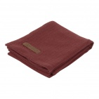 Little Dutch Swaddle Pure Indian Red  120 x 120