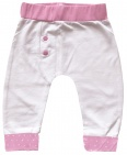 Born To Be Famous Broek Wit/Roze
