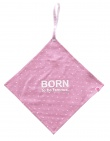 Born To Be Famous Speendoekje Roze Print