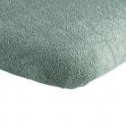 Briljant Hoeslaken Boxmatras Stonegreen  75 x 95 cm