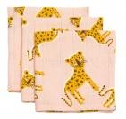 Briljant Hydrofiele Monddoekjes Cute Panther (3 stuks)