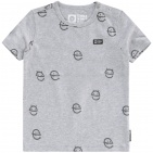 Tumble 'N Dry T-Shirt Amads Grey Melange mt.74