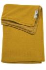 Meyco Deken Knit Basic Geel Met Velvet 100 x 150 cm