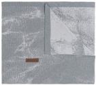 Baby's Only Ledikantdeken Marble Grijs/Zilvergrijs 100 x 135 cm