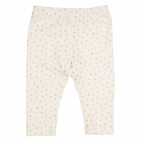 Gymp Legging Dot Offwhite Gold