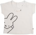 Nijntje/Miffy T-Shirt Korte Mouw Love Offwhite