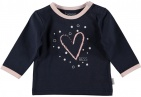 BESS T-Shirt Heart Blue