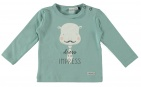 Babylook T-Shirt Impress Blue Surf