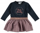 Babylook Jurk Lovely Navy