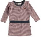 Babylook Jurk Stripe Blush
