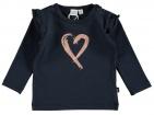 Babylook T-Shirt Copper Navy