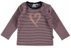 Babylook T-Shirt Copper Stripe