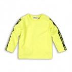 Dirkje T-Shirt Smile Neon Yellow