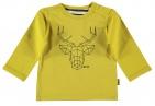 BESS T-Shirt Deer Ocre