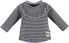 Babyface T-Shirt Stripe Black Navy