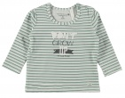 Bampidano T-Shirt Stripe Soft Green