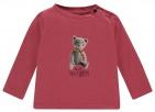 Noppies T-Shirt Cheviot Garnet Rose