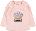 Name It T-Shirt Signy Silver Pink