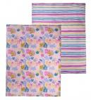 Briljant Overtrek Jungle Dusk Pink 120 x 150 cm