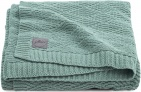 Jollein Deken River Knit Ash Green   75 x 100 cm