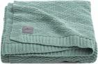 Jollein Deken River Knit Ash Green  100 x 150 cm