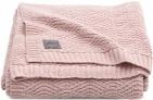 Jollein Deken River Knit Pale Pink   100 x 150 cm