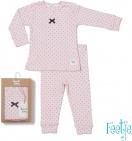 Feetje Pyjama Dots Doreen Roze