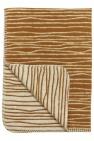Meyco Deken Stripe Camel/Offwhite  120 x 150 cm