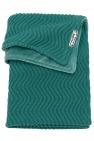 Meyco Deken Waves Velvet Emerald Green  75 x 100 cm