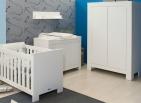 Bopita Hanglegkast 2-deurs Bianco White