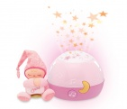 Chicco Nachtlamp Stars Projector First Dreams Pink
