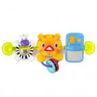 Bright Starts Hop Along Carrier Tiger Toy Bar
