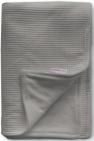 Cottonbaby Wiegdeken Gevoerd Wafel Donkergrijs 75 x 90 cm