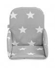 Jollein Stoelverkleiner Little Star Dark Grey (plastic)
