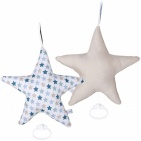 Little Dutch Mixed Stars Mint Ster Muziekdoos