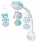 Infantino Watch Over Me 3in1 Projector Musical Mobile Blue