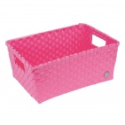 Handed By Bibbona Open Basket Pink