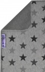 Dooky Deken Katoen Grey Stars 70 x 85 cm