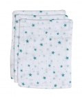 BD Collection Hydrofiele Washandjes Don Wit/Jade (3 stuks)